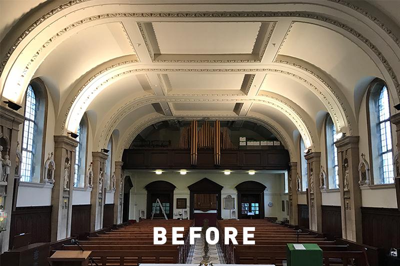 ROBUS CAELUM LED - St Joseph's Chapel, UK