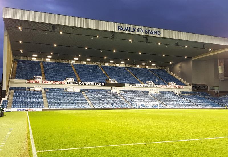 Rangers F.C. Glasgow, Scotland