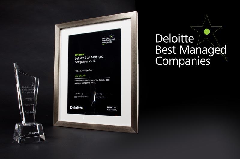 LED Group - Deloitte Best Managed Companies 2016 Winner